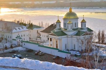 Церковь святителя Алексия Благовещенского монастыря
