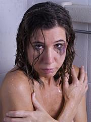Battered women in the shower
