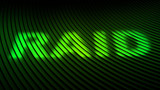 RAID (redundant array of independent disks) poster