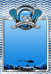 Signboard for Spearfishing