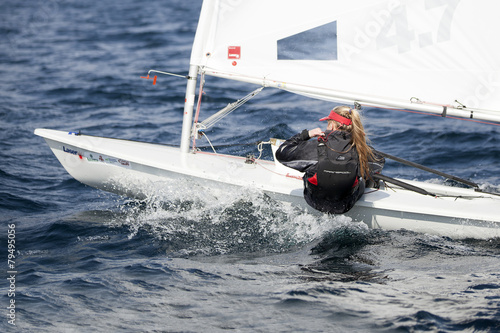 Foto op Plexiglas Zeilen barca a vela