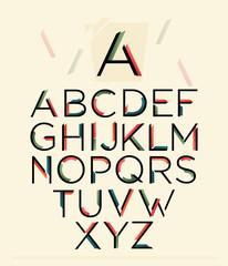 Vector Alphabet Set