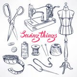 sketch tailoring equipment