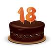 Birthday cake 18