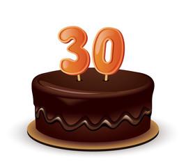 Birthday Cake 30