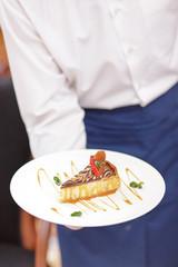 Waiter In the luxury restaurant
