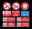 Signaletiques Fumeur - 79499621