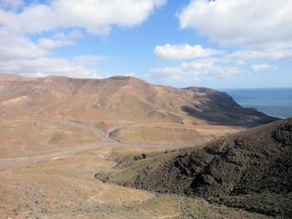 vista dal faro de la Entallada - fuerteventura