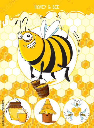 Honey & Bee - 79500096
