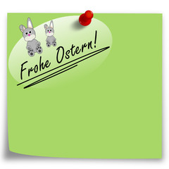 Post-It Frohe Ostern