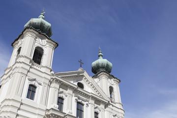 Particolare chiesa di S. Ignazio, Gorizia