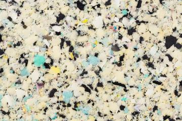 Recycled sponge texture