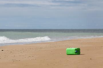 Spiaggia inquinata