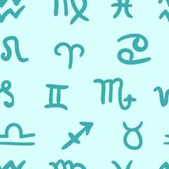 Turquoise zodiac