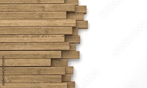 Keuken foto achterwand Hout wooden beam