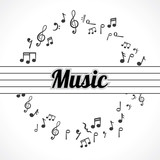 music notes - 79506423