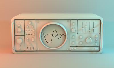 Analogue oscilloscope