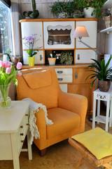 gemütliche Wohnung Sessel