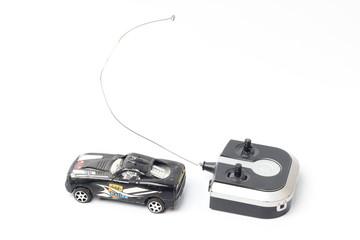 Radio Controlled Car on white