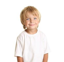 Happy little boy isolated