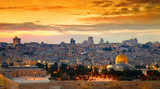 Panorama of Jerusalem old city. Israel
