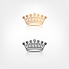 vector crown icon