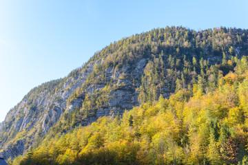 Mountain view of the austrian alps