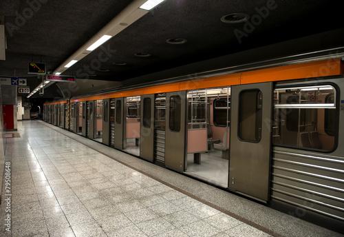 metro station in athens - 79508648