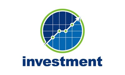 Investment Business Grow Finance Logo