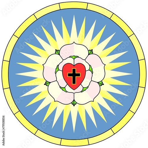 Luther Rose Christian Symbol