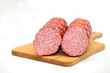 Boiled and smoked sausage