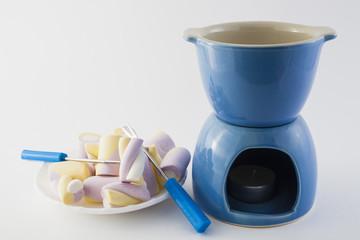 ware for a chocolate fondue