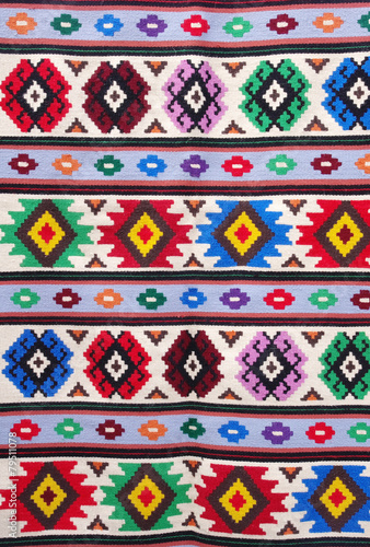 The traditional carpet from city Kotel, Bulgaria - 79511078