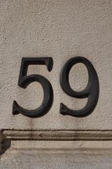 59, cinquante neuf, neunundfünfzig, fifty-nine, cinquantanove
