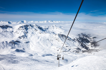 French Alps in Meribel