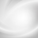 Silver light gradient background poster