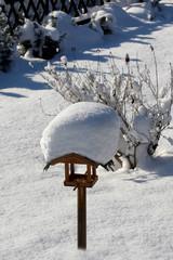 Winter, Vogelhaus, Vogelfütterung,