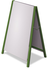Sandwich board (white version)