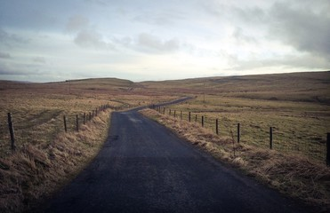 road in yorkshire dales