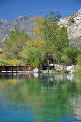 Pond in the Desert