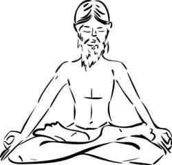 Sketch of yogi