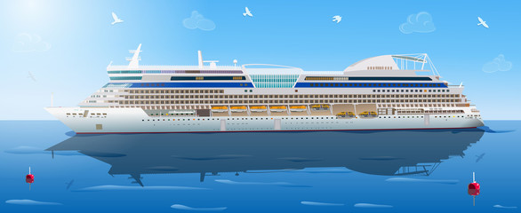 Big cruise ship