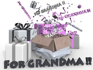 Party for grandma