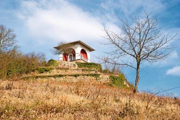 Kleines Tee-Tempelchen oberhalb von Bad Kreuznach