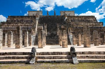 Chichen Itza feathered serpent pyramid