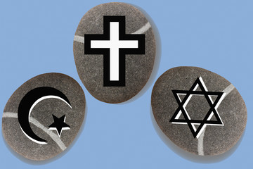 Monothéisme : Juif  Chrétien  Musulman