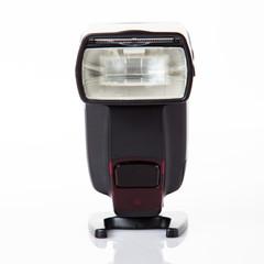 Camera flash light isolate on white background