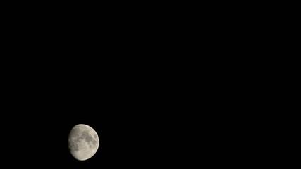 luna in movimento