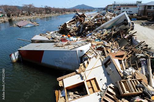 Leinwandbild Motiv 3・11・2011 Ksennuma0167