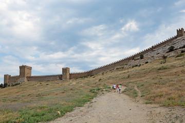 Genoese fortress, Sudak, republic Crimea